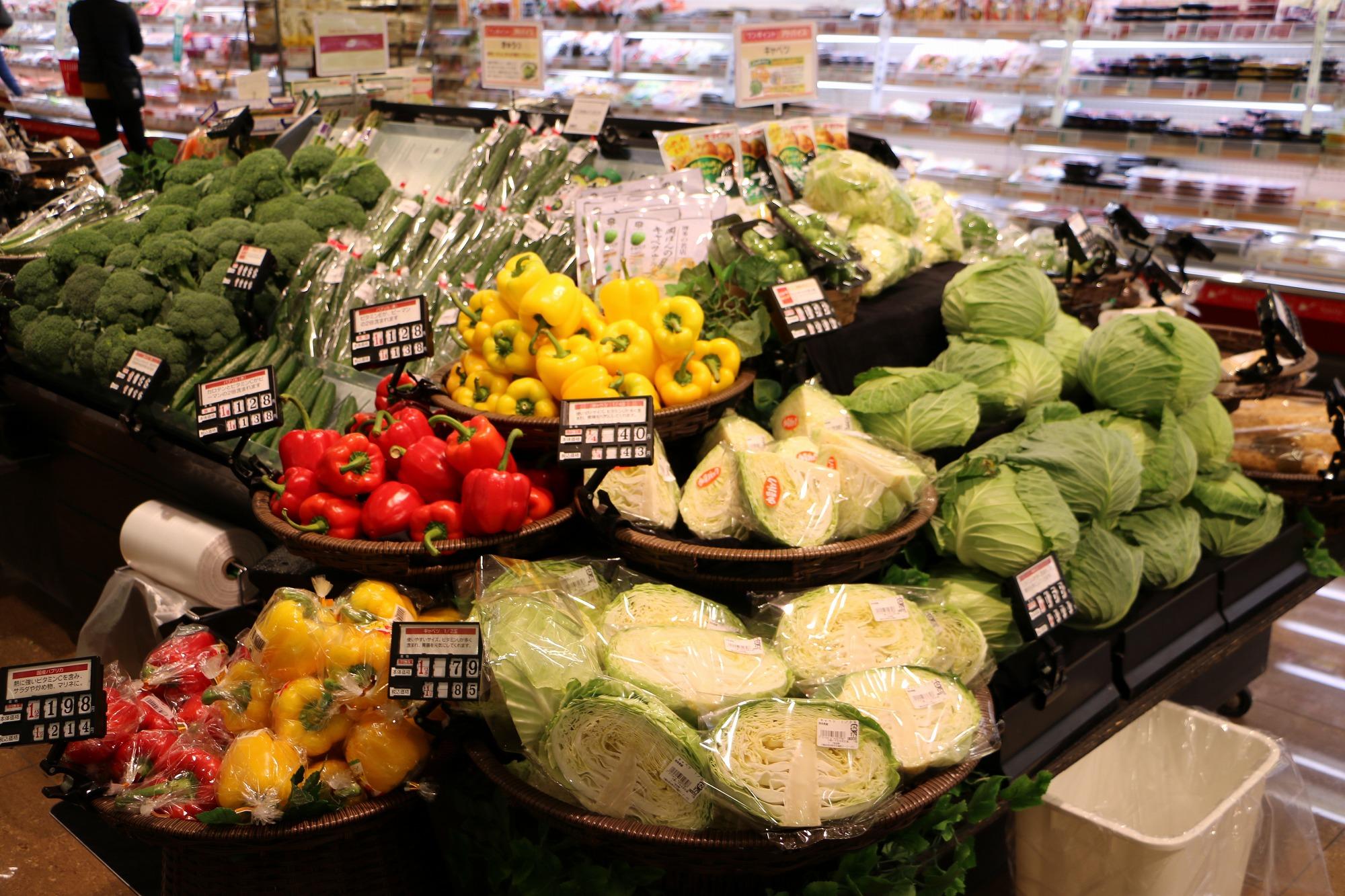 スーパーの野菜01